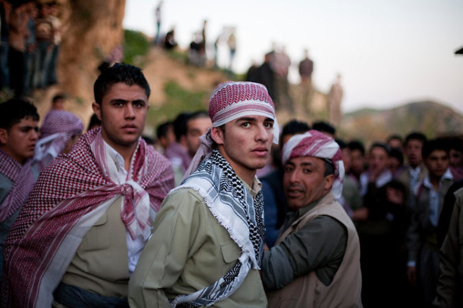 Iraqi Kurds celebrate the first day of spring
