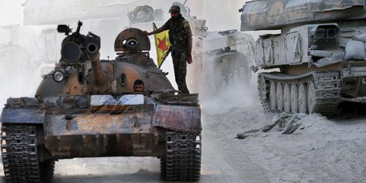 Kurdish fighters of the YPG. Photo: Jinda Ibrahim/ARA News