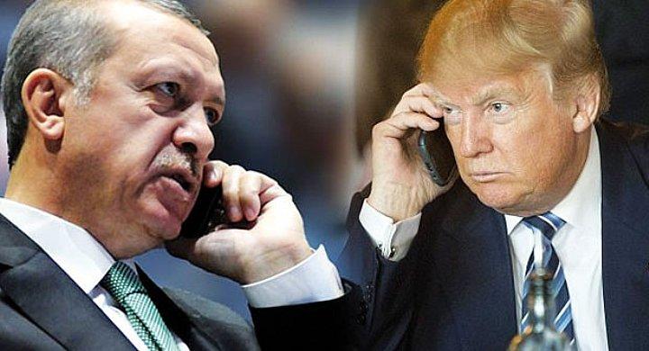 Son dakika haberi: Erdoðan ve Trump telefonda görüþtü