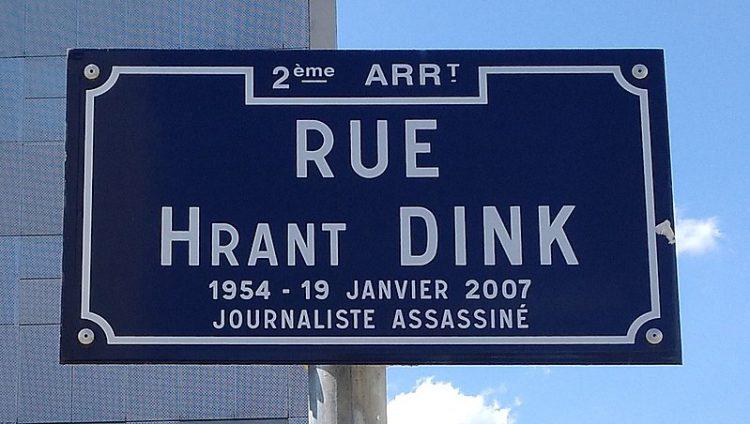 APPEL Hommage à Hrant Dink: 12 ans sans justice