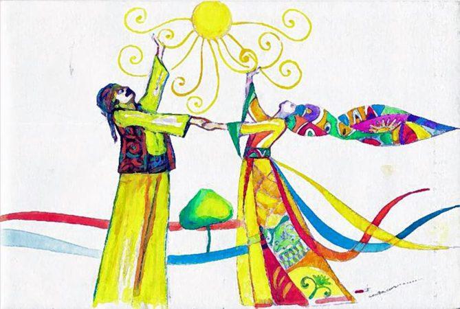 Newrozbenefiet voor Rojava, zaterdag 5 april 2014, GC Ten Noey