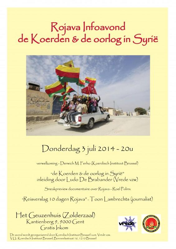Rojava Infotour Gent 300