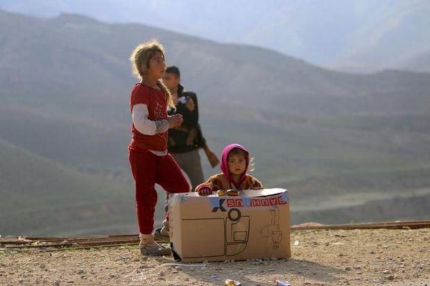 Foto Kinderen uit Rojava