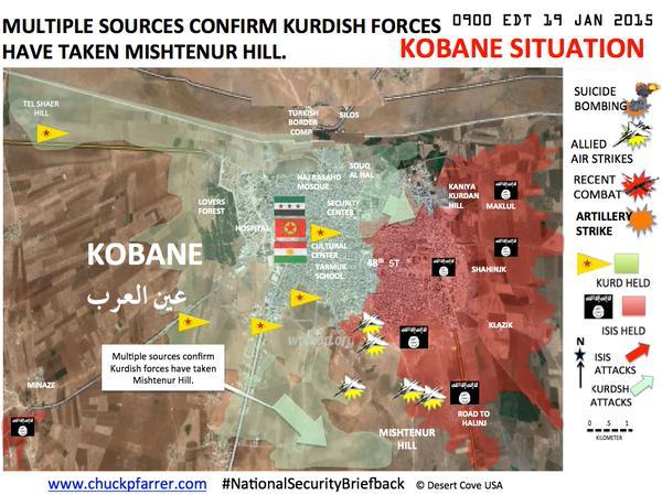 kobani verovering mistenur
