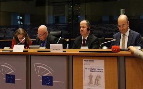 Kurdistan Region President Massoud Barzani at the EU parliament in Brussels last year. Photo: Rudaw