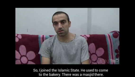 Screenshot of interview with Turkish citizen Huseyin Mustafa Peri, who was captured by the People's Protection Units.  Read more: http://www.al-monitor.com/pulse/originals/2015/06/turkey-syria-iraq-isis-new-turkish-unit-lures-kurds.html#ixzz3dPHUyylO