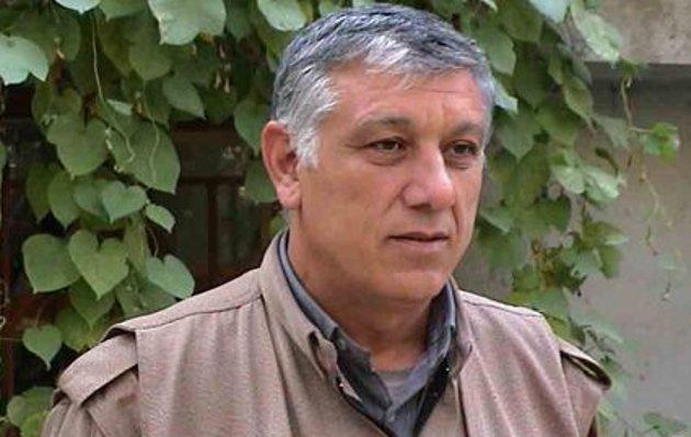Cemil Bayik, één van de stichters van de PKK en covoorzitter van de KCK (Unie van Gemeenschappen van Koerdistan)