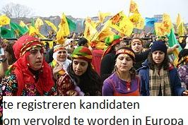 Berichtgeving Telegraaf over registreren PKK-sympathisanten