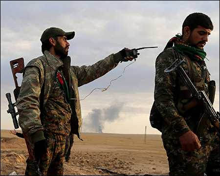 Kurdish YPG fighters in Syrian Kurdistan. Photo: AFP