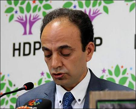Osman Baydemir, MP from the People's Democratic Party HDP and one of Turkey's most popular Kurdish politicians. Photo: HDP