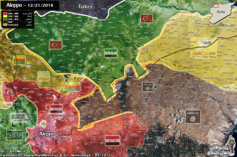 al-Bab offensive, 21 december 2016