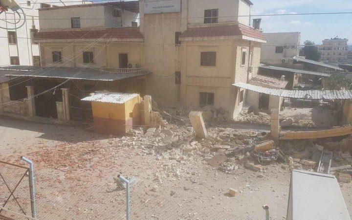 Turkije bombardeerd Evrin ziekenhuis in Afrin.
