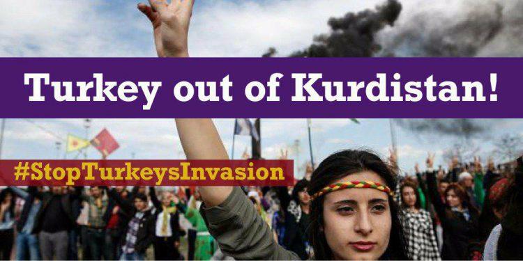 Oproep: Laat de Syrische Koerden, die samen met hun bondgenoten de Islamitische Staat hebben verslagen, niet afslachten door Turkije!