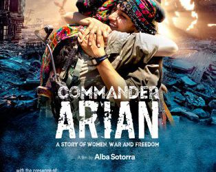 Movie screening in the European Parliament: Commander Arian by Alba Sotorra