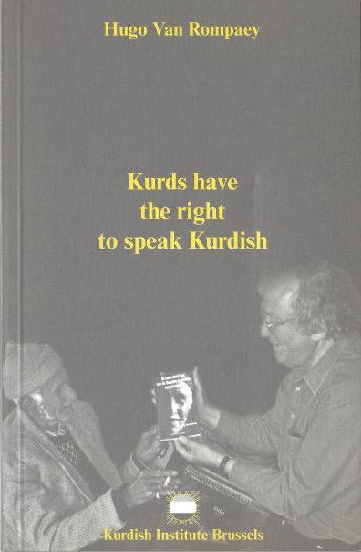 Kurds have the rights to speak Kurdish