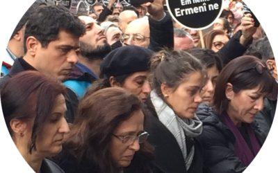 Commémoration de l'assassinat du journaliste arménien Hrant Dink