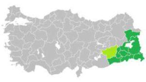 Kaart Bakur