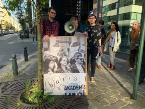 Protest bord
