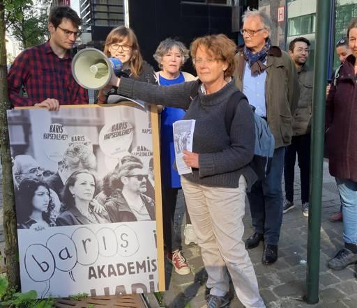 protest actie turkse ambassade