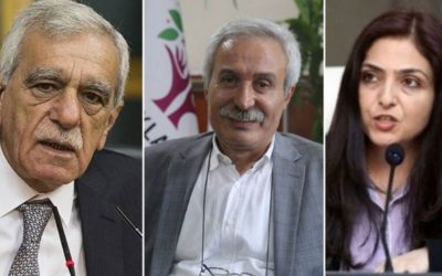 A new and clear political coup from the AKP government in Turkey: 3 democratically-elected mayors removed from duty
