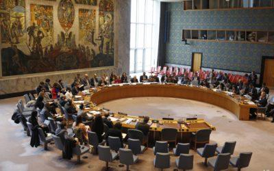 Brief gericht aan de Belgische Permanente Vertegenwoordiging in de VN-Veiligheidsraad