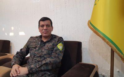 De toekomst van Noordoost-Syrië: Een gesprek met SDF generaal Mazloum Abdi