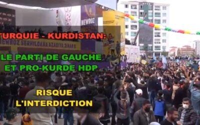 HDP, de derde grootste partij in Turkije stevent af op een verbod – Reportage en interview van Chris Den Hond (7 april 2021)